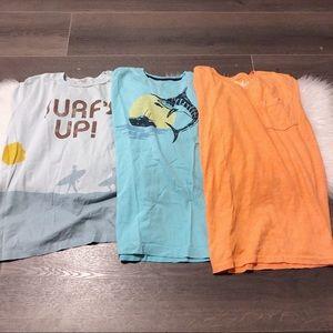 Surf's Up! Boys 10/12 Tshirts bundle!